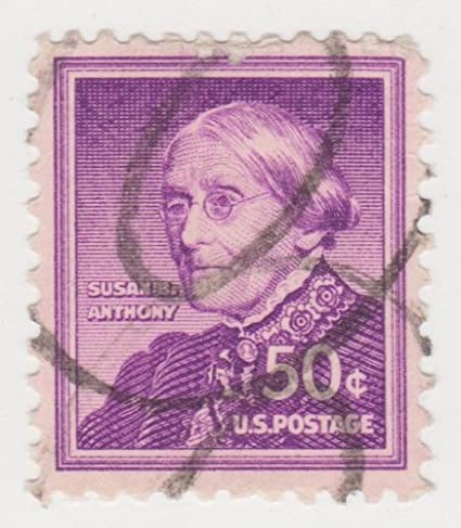 USA Stamp Scott 1051 1954 1961 50 Cent Susan B Anthony