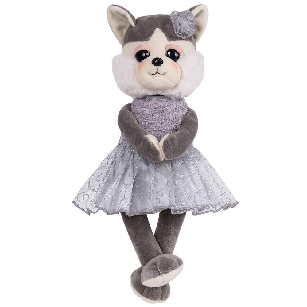 color Style5 Rakki Dolli Husky Dressed Stuffed Animals Grey Dog Plush Toy Doll