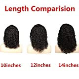 Short Curly Wig Human Hair Brazilian Lace Front