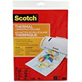 Scotch Thermal Laminating Pouches, Assorted Pack, 25 Pouches Per Pack, (TP-ASST-35-C)