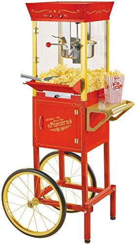 082677135100 - Nostalgia CCP510 53-Inch Tall Commercial 6-Ounce Kettle Popcorn Cart carousel main 1