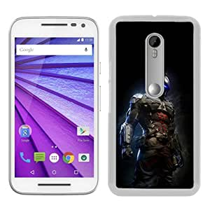 Ah Arkham Night Dark Batman Digital Illust Art White Recommended Picture Custom Motorola Moto G 3rd Generation Case
