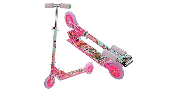 Amazon.com: l.o.l. sorpresa. Plegable Kick Scooter, Rosa ...