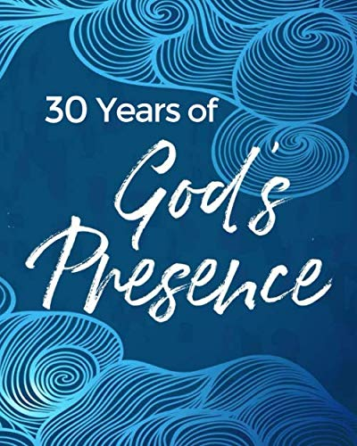 30th Birthday Invitations For Him - 30 Years of God's Presence: 30th