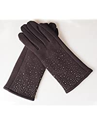 Ms Stars Gloves Touch Screen Cashmere Color Optional,1
