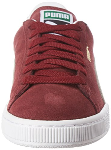 PUMA Womens Suede Classic Trainers White-red givcpGL