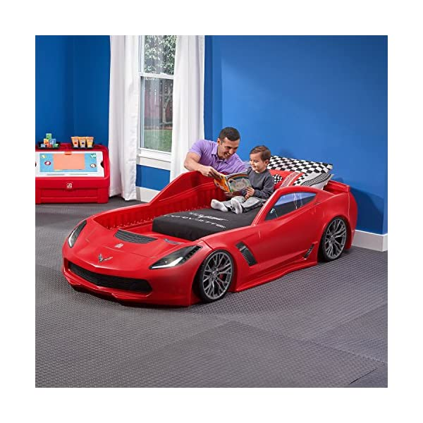 Step2 Corvette Z06 Toddler Bed to Twin Bed 2