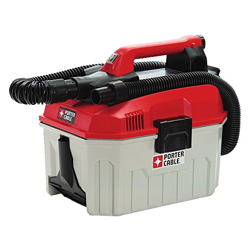 PORTER-CABLE PCC795B 20V MAX Wet/Dry Vacuum, 2 gallon