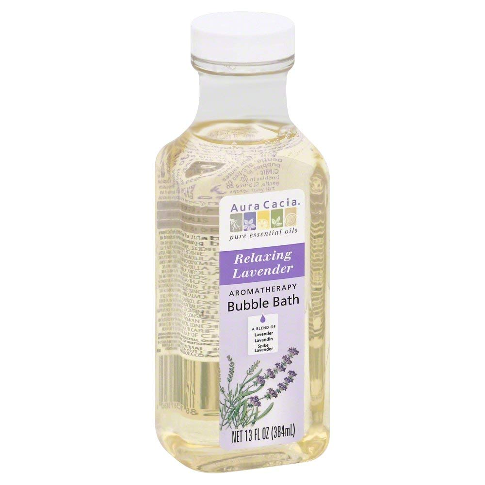 Aura Cacia Bubble Bath, Lavendar Harvest 13.0 OZ (Pack of 6) by Generic