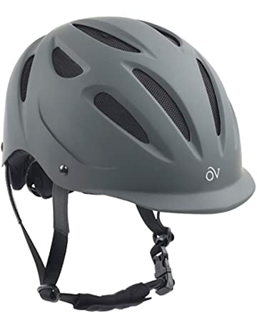 FOUGANZA C900 Sport Horse Riding Helmet Black//Brown size 59