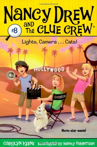 Lights, Camera . . . Cats! (Nancy Drew and the Clue Crew #8)]()
