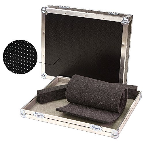 Mixers & Small Units 1/4 Ply ATA Light Duty Case with Diamond Plate Laminate Fits Alto Zephyr ZMX 164