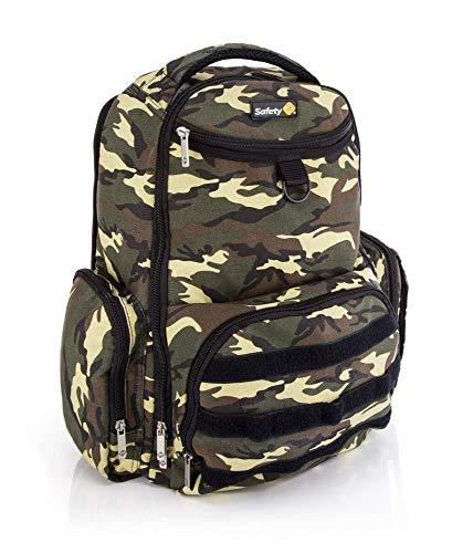 Mochila Multifuncional Back Pack - Gren Army - Safety 1st