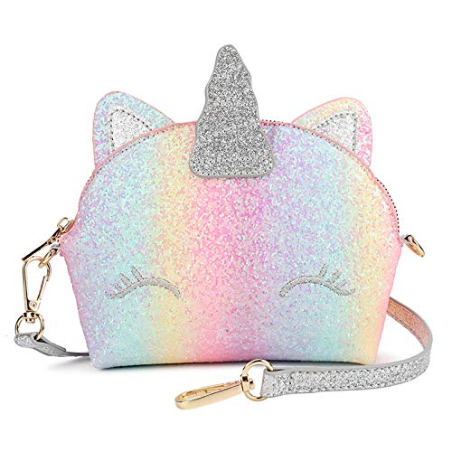 Mibasies Unicorn Gifts Kids Purse for Little Girls
