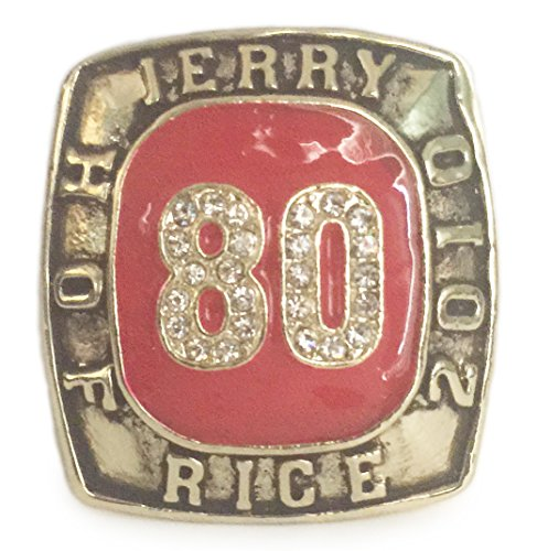 Jerry Rice Hall of Fame Ring - Great Football Memorabilia Size 11 - Shipped from USA ()