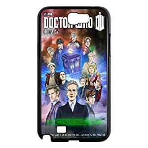 Doctor Who Samsung Galaxy N2 7100 Cell Phone Case Black A3725620