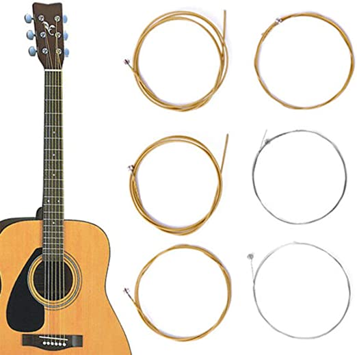 yibenwanligod - Cuerdas de Acero de Bronce para Guitarra acústica ...
