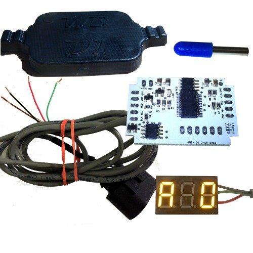 WB D1-DIY Wideband Controller and G1 LED AFR Display Kit (ORANGE)