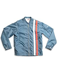 Birdwell Men's Lightweight Band Collar Nylon Jacket