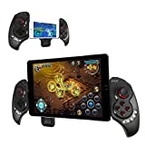 """iPega Newest Extendable gamepad Game Controller Portable Bluetooth Wireless Gamepad Joystick Control for Android Samsung Galaxy Note 3 S5 HTC Sony Xperia LG and iOS iPhone 6 5S 5C 5 iPad 5 4 iPod, Supports Up to 10"""" Smartphone or Tablet PC"""