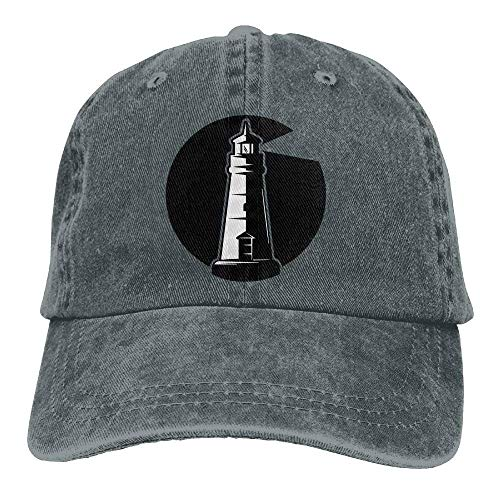 by Male Great béisbol Baseball Lighthouse Adjustable Denim The Gorras Cap Hat hanbaozhou Sea zqSxptSR