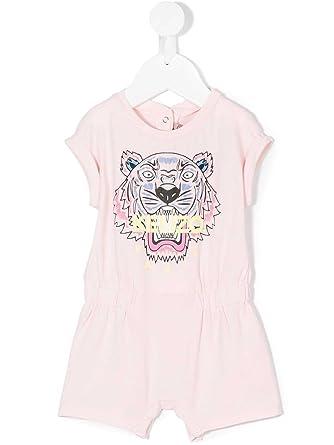 64d9f4944fb1 Amazon.com  Kenzo Kids Womens Classic Tiger Romper (Toddler)  Clothing