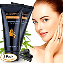 2 Pack Blackhead Remover Mask, Face Blackhead Mask for Removing Blackhead, Charcoal Blackhead Remover Mask for Nose and Body, Best Charcoal Peel Off Blackhead Remover Mask for 2018Vill Beauty Charcoal Peel Off Blackhead Remover Mask Features ...