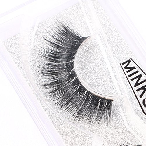 3DMink-Eyelashes-Hand-Made-Natural-Extension-Long-Cross-False-Thick-Lashes-for-Beauty-2-Packs