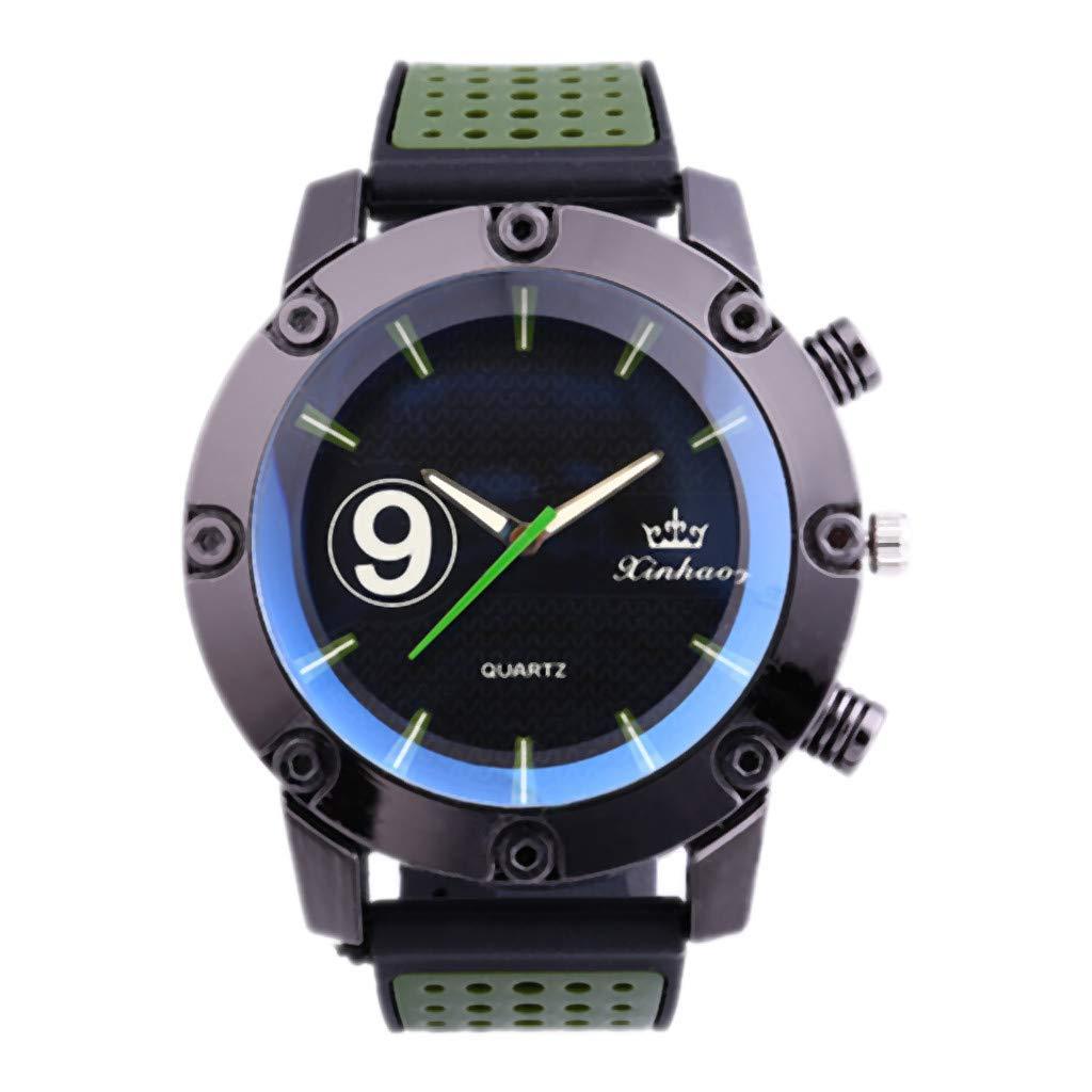 2019 Relojes, Reloj Inteligente Reloj Despertador Digital Reloj De Hombre Reloj De Cuarzo De Tendencia Leather Watches: Amazon.es: Relojes
