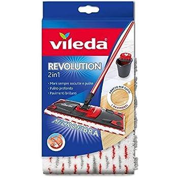 Vileda 132174 SuperMocio Revolution Replacement Microfibre Cloth