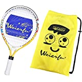 Weierfu Junior Tennis Racket for Kids Toddlers Starter Racket 17-21 with Cover Bag Light Weight(Strung)