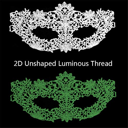 PATY&COSMSK Women's Lace Mask for Halloween Carnival Ball Masquerade Stamping Party Supplies Masks Hollow Out W-2D-YG ()