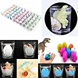 Lisin Animal Grow Eggs Sea- Hatch and Grow, 60pc/Box Water Hatching Egg Box Large Expansion Animal Egg Kids Educational (B)
