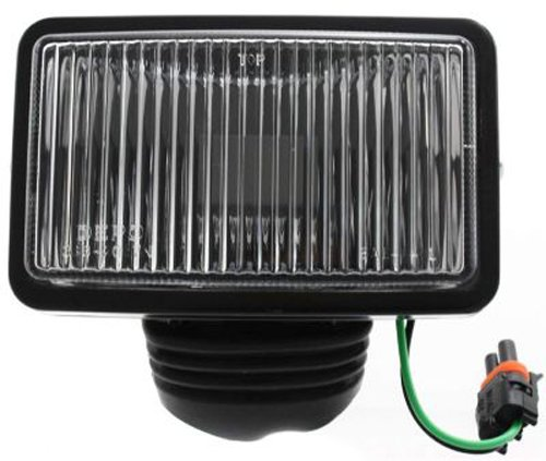 [Crash Parts Plus Driver Or Passenger Fog Light for Jeep Cherokee, Comanche, Wagoneer, Wrangler] (Cherokee Fog Light Driver)