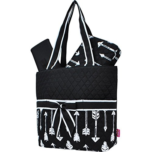 Arrow Print NGIL Quilted 3pc Diaper Bag by N.Gil