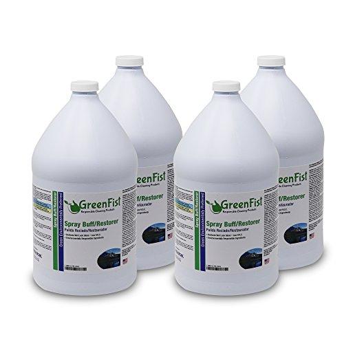 GreenFist Spray Buff Restorer Floor Finish Wax (4 Gallon) by GreenFist