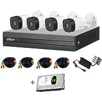 Dahua Cooper XVR1B04KITHDD- Kit 4 Canales 1080P Lite/ H265+/ 1 HDD DE 1TB para CCTV Instalado/ 4 CAMARAS 1080P B1A21…