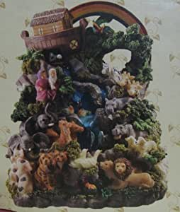 Classic Treasures Musical Noah's Ark Water Fountain
