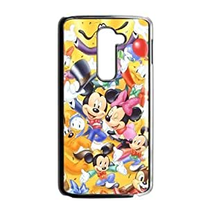Unique Design Cases LG G2 Cell Phone Case Mickey Mouse Sjgiv Printed Cover Protector