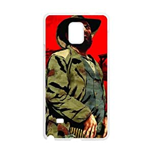 Red Dead Redemption Samsung Galaxy Note 4 Cell Phone Case White Customized Items zhz9ke_7307181
