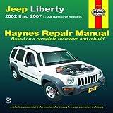 Jeep Liberty 2002 thru 2007 (Haynes Repair Manual) 1st (first) (2006) Paperback