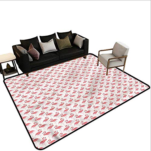 - Flamingo,Dining Table Rugs 64