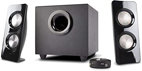 Cyber Acoustics 30W Powered Speaker System with Control Pod CA-3602A