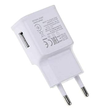 Cargador USB Tipo C para Transformador, Carga rápida, Color Blanco, SIN Paquete Cargador Compatible con el Samsung Galaxy S8 S9 S9 Plus 10 Note ...
