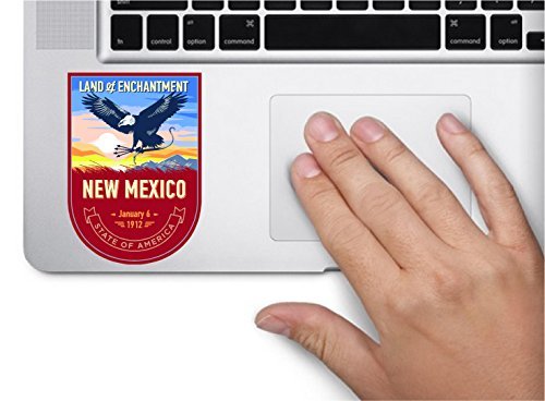 New Mexico State Animal - State animal New Mexico day 3.5x2.5 inches color sticker animal state decal die cut vinyl - Made and Shipped in USA
