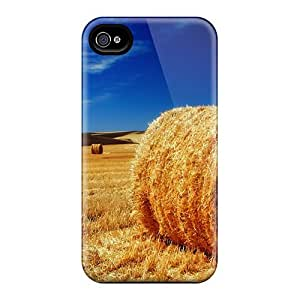 Fashion Tpu Case For Iphone 5/5s- The Palouse Fields Defender Case Cover