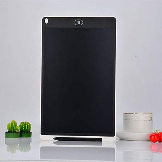 LCDライティングタブレットキッズ描画タブレット手書きボードパッドLcd手書きボード子供落書き描画ボード(ホワイト8.5インチ)