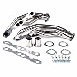 Mophorn Manifold Header Exhaust Headers for 88-97 ChevyGMC ManifoldStainlessRacingHeaderExhaust Header5.0/5.7 V8 C/K Pick Up (for 88-97 Chevy GMC)