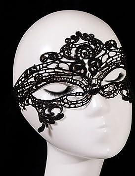 Gao & SP negro mujer sexy máscara de encaje recorte Antifaz para fiesta de máscaras de