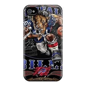 Shock-Absorbing Hard Cell-phone Case For Iphone 6plus (GLa20138PtwR) Custom Beautiful Buffalo Bills Series